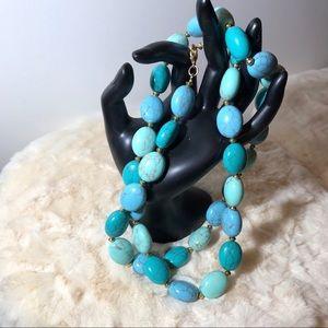 Lauren Ralph Lauren Genuine Turquoise Necklace